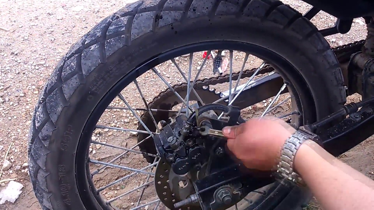 Purgar bomba de freno trasero moto MRX AUTECO