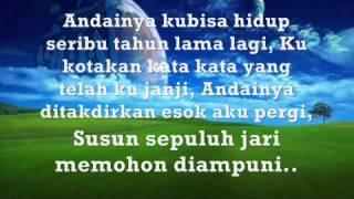 Repeat youtube video Mawi Feat AC Mizal - Al Haq Yang Satu 'LIRIK' _ TK