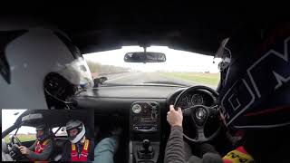Llandow Circuit Trackday Supercharged Mx5 Crash Video!