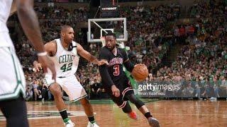 Dwyane Wade: Full Series Highlights vs Celtics 2017 Round 1, 15 PPG, 4 APG, 1.3 BLKPG!