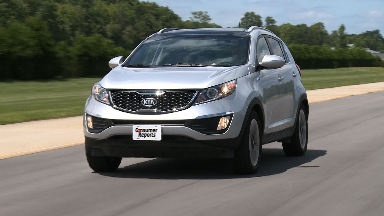 Kia Sportage SX Review | Consumer Reports   YouTube