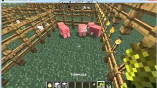 как размножить и приручать животных  в minecraft