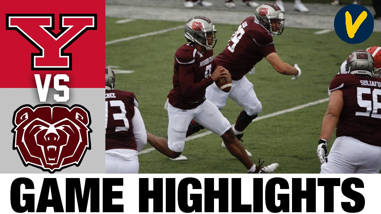Youngstown State vs #15 Missouri State Highlights | FCS 2021 Spring College Football Highlights