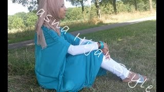Summer Hijab Outfits | Maxi-dress Thumbnail