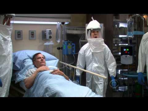 The Big Bang Theory  Sheldon has to use hospital bathroom