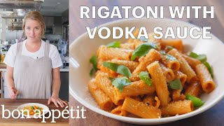 Molly Makes Rigatoni with Vodka Sauce | From the Test Kitchen | Bon Appétit