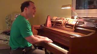 "Guys and Dolls   ""Luck Be a Lady""   Piano and vocals"