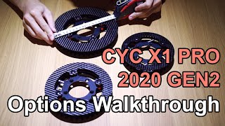 CYC X1PRO 2020 Gen2 Options Walk-through 5kW mid drive kit