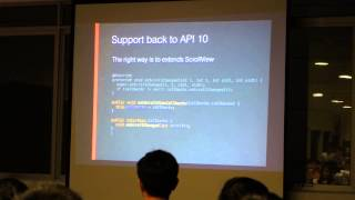 Building Android App at Carousell by Hoang N. - Singapore Android Developers May 2015 Meetup Part 1