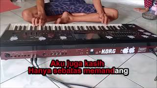 Gambar cover Cover Dinding Kaca Duet Karaoke Dangdut Koplo Instrument Keyboard No Vokal
