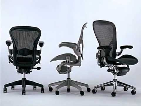 Fauteuil aeron chair par herman miller artdesign youtube - Fauteuil herman miller ...