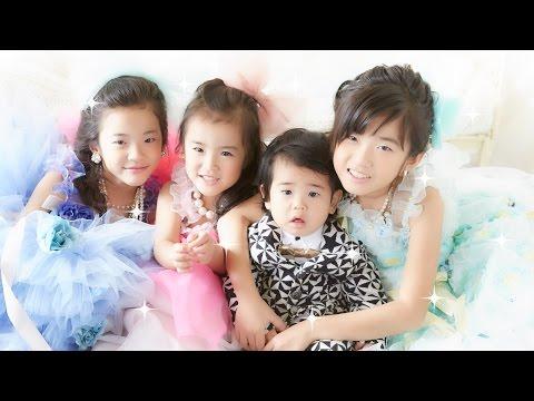 あさひ七五三とKanAki 家族写真の撮影