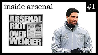 Inside Arsenal Episode #1 - Arteta's Coaching Staff