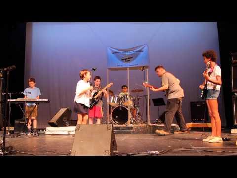 RockStar Jammers - Rockstar Jam Summer Music Camp - Metal Kid 2015