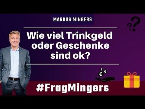 Wie viel Trinkgeld oder Geschenke sind ok? | #FragMingers