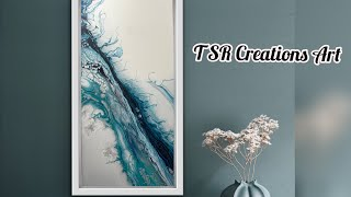 MUST SEE..Pearl cell swipe awesome effects! #pearlcells, #acrylicpour