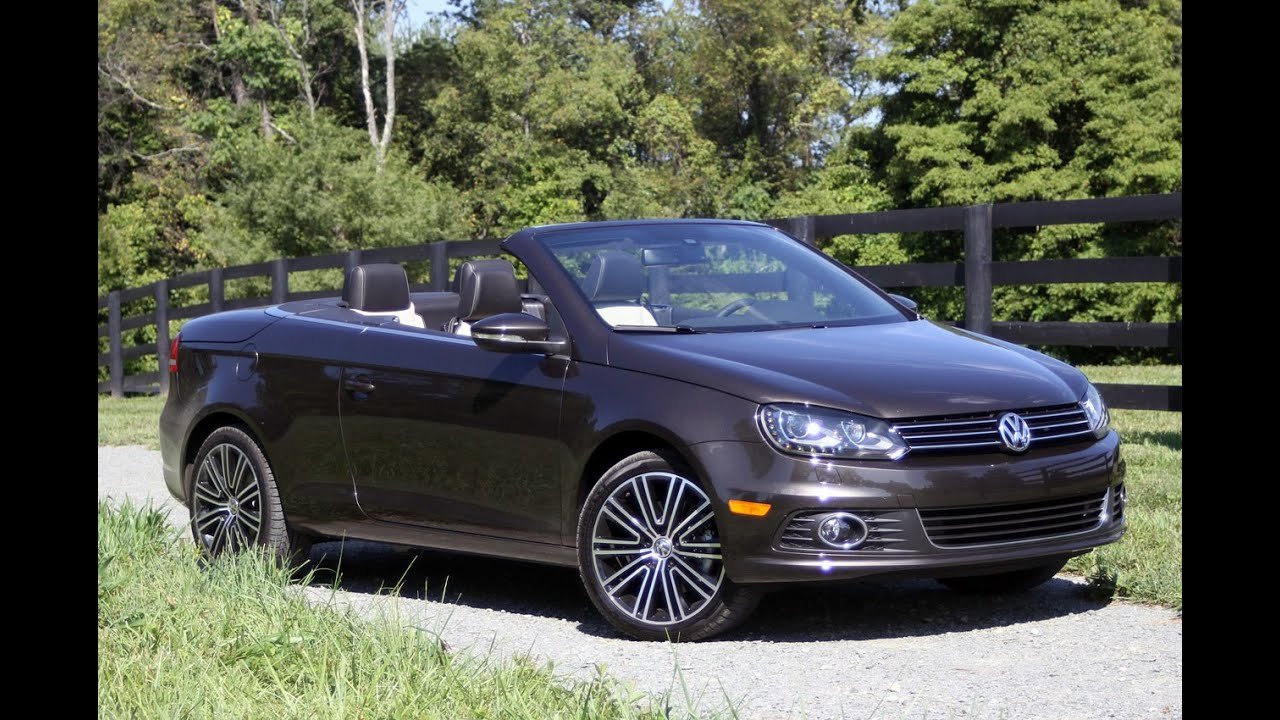 volkswagen eos final edition youtube