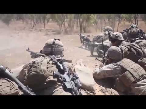 U.S. Marines in Australia!  Live-Fire Exercise - Koolendong 13!