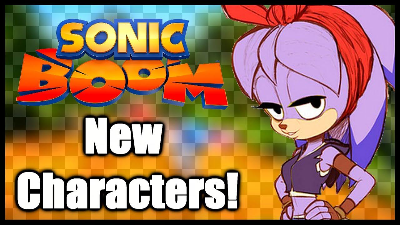 Sonic Boom - New Characters! - YouTube