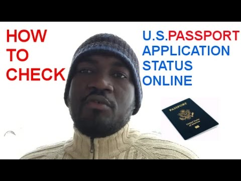 HOW TO CHECK AMERICAN PASSPORT APPLICATION STATUS ONLINE