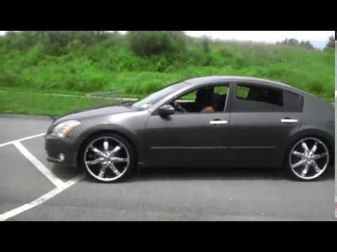2005 Nissan Maxima On 22 S Youtube