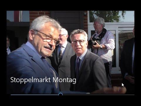 Stoppelmarkt 2017.  Bundesinnenminister auf der Westerheide