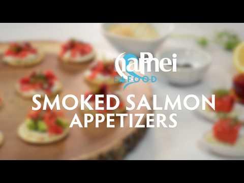 Smoked Salmon Appetizers 5 Ways