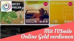 💸Mit TVSmiles Online Geld verdienen?!💸 - [App Review 2018] | NetzJobber
