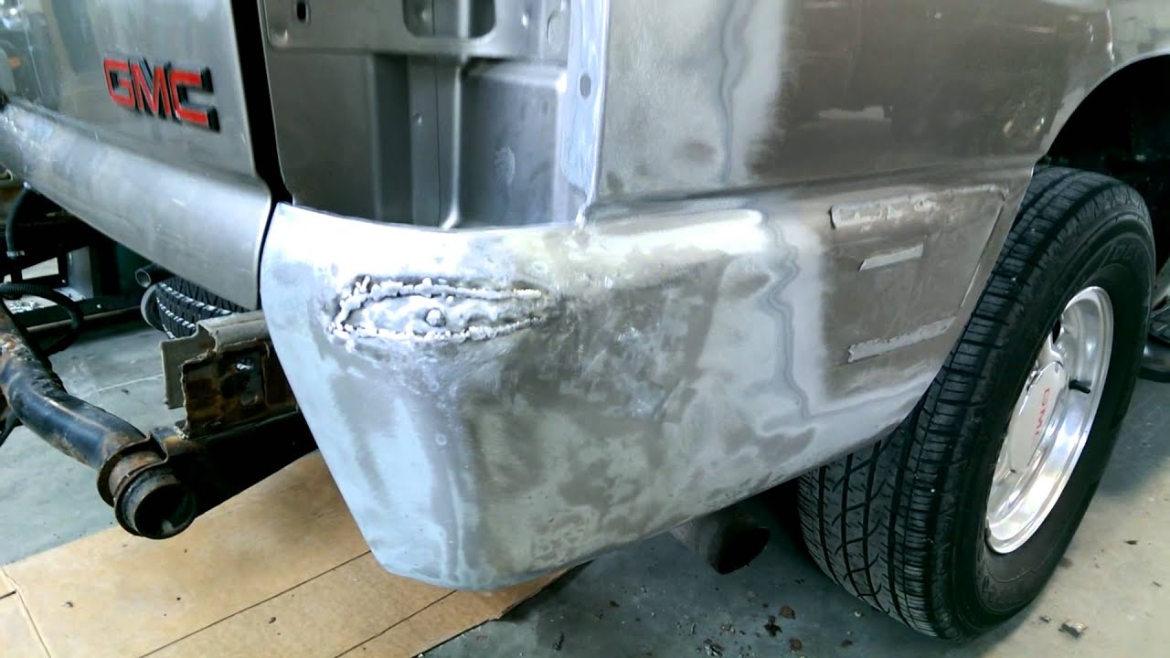 Gmc Yukon Quarter Repair Youtube