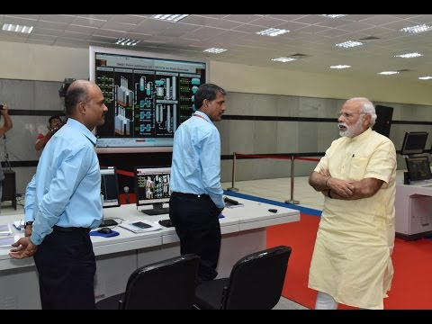 PM Modi Visit's Central Control Room of ONGC & Visits Plant of OPAL in Dahej, Gujarat