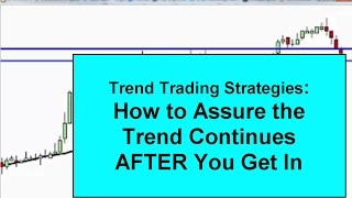 Trend Trading Strategies To Avoid Being Stopped Out