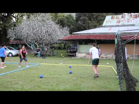 Iles Cook Rarotonga Avarua Entraînement sportif / Cook islands Sport entairtainment