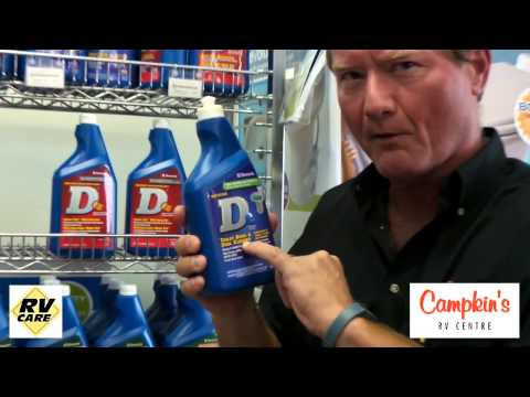 Campkin's FAQ - HOW DO I CLEAN MY RV TOILET?