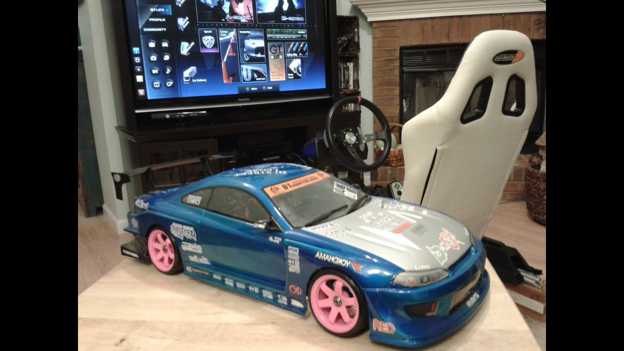 S15 Drifting Game Chair W GT5 and G27 Wheel