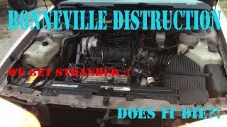 Blowing up a Bonneville engine [Got stranded]