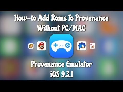 [Update] Provenance iOS 9.3.3; How to Add Roms Without a PC/MAC