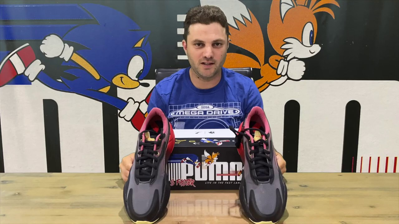 Ep 322 Rs X3 Puma X Sonic Colour 2 Shoe Unboxing Youtube