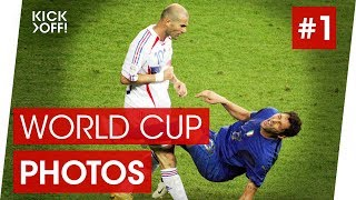 The Greatest World Cup Photos #1 | Zidane vs Materazzi