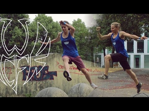 Chacatouille & Anna ¤ Parkour Girls ¤ Hitchhike Travel