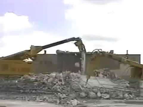 Remote Controlled Demolition Equipment