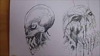 Drawing Monster Head Ideas