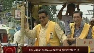 24 Oras: FPJ Magic, gumana raw sa Eleksyon 2013