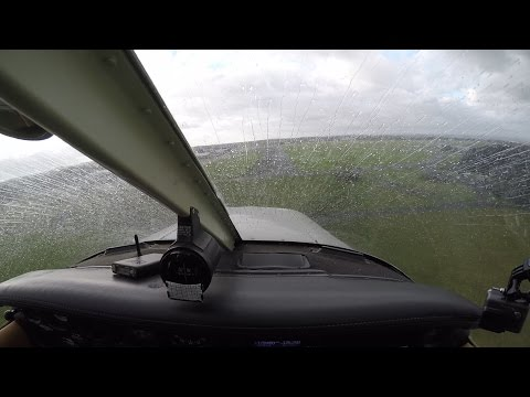 VFR flight into IMC