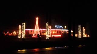 Christmas Light Show-Kershaw, SC