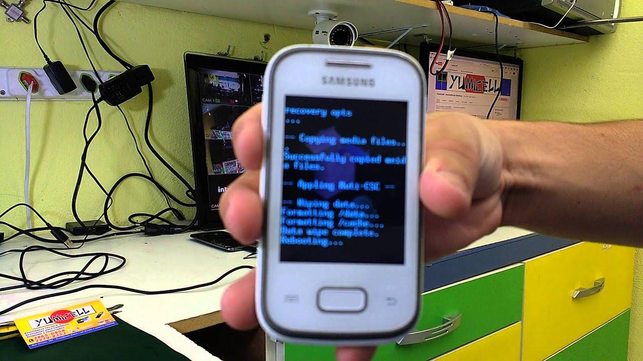 Mobile Info: Samsung Galaxy Pocket 2 Reset