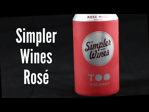 Simpler Wines Canned Rosé Wine Review