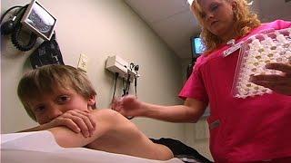 Watch This Kid Get Allergy Skin Testing