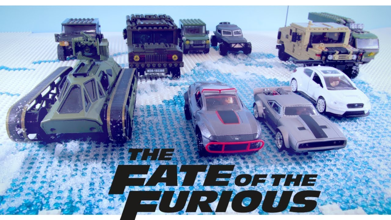All Fast And Furious Cars >> LEGO FAST AND FURIOUS! Fate of the Furious Official ...