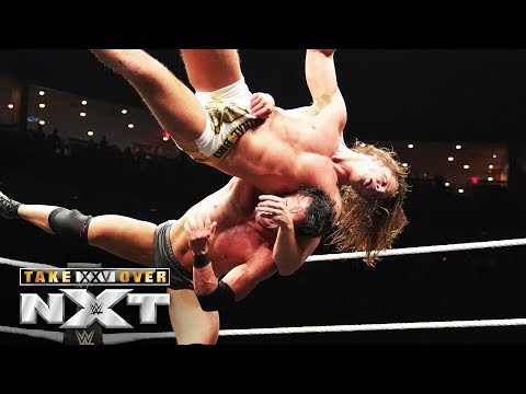 Matt Riddle and Roderick Strong fight tooth-and-nail: NXT TakeOver: XXV (WWE Network Exclusive)