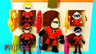 Full Set of The Incredibles 2 Happy Meal Toys w/ Baby Jack Jack
